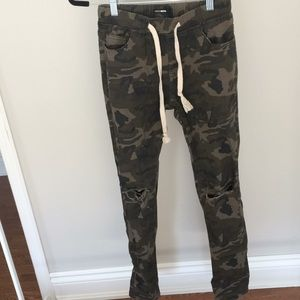 Fashion nova camo joggers